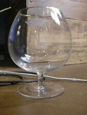 French Napoleonic Baccarat Crystal Cognac Brandy Wine Glass/goblet