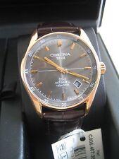 Certina Orologio da uomo DS 1 automatico c0064073608100 Rose Gold nuovo con scatola originale