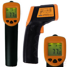 Non-Contact Digital LCD IR Infrared Laser Sight Thermometer Temperature Gun