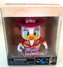 """DISNEY VINYLMATION 3"""" TUNES COUNTRY DAISY DUCK 2012 COLLECTIBLE TOY FIGURE NEW"""