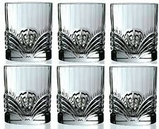 RCR Crystal Aurea Set Of 6 Crystal Tumblers Whiskey / Wine Water Tumbler 28cl