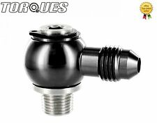 "AN -4 (4AN ) Banjo Adapter To 1/8"" NPT Stainless Steel Banjo Bolt Assembly BLACK"