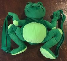 Philippe Plush Frog Backpack Museum of Fine Arts Boston Claude Monet