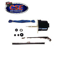 Wiper Motor Kit Jeep Willys CJ3B  CJ5 CJ6 12V Black Universal 19101.02 Omix-Ada