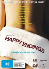 HAPPY ENDINGS Maggie Gyllenhaal / Lisa Kudrow / Tom Arnold DVD R4 NEW - PAL
