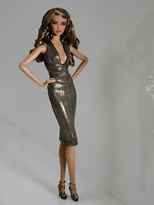 "FASHION Royalty NU faccia 2.0 CORPO Dominique Dressed DOLL 12 ""le difficile da trovare"