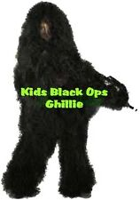 Kids Black Ops Ghillie Suit (L/XL) - Boys/Girls -FREE SHIPPING