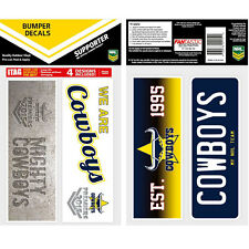 North Queensland Cowboys PREMIERS Set of 4 UV iTag Bumper Decals
