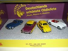 WETTENBERG GOLDEN OLDIES 2009 SET JAGUAR , VW , FORD , MERCEDES