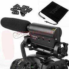 TAKSTAR SGC-598 Stereo microphone Mic for Canon EOS M2 M3 5Ds 7D 6D 5D Mark III