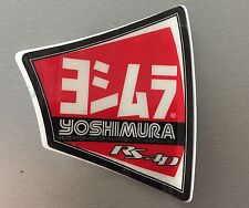 NEW GENUINE YOSHIMURA MUFFLER EXHAUST DECAL RS-4 End-cap