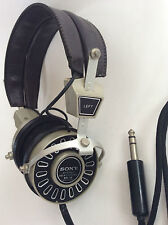 Rare Retro Vintage Sony Dynamic Stereo Headphones DR-15 Japan High Quality Sound
