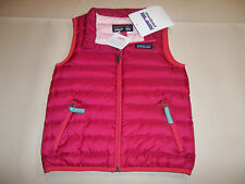 NEW PATAGONIA BABY DOWN SWEATER VEST GIRL'S 3T 3 T *FREE SHIP*