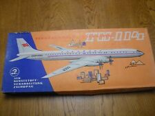 VEB KVZ Airplane Plasticart Model in BOX German