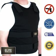 Bullet Proof vest defense KEVLAR Body Armor Level IIIA 3A Size M L XL