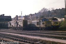 British Rail Barry Diesel depot South Wales late 1970s Rail Photo