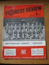 08/04/1969 Nottingham Forest v Chelsea  (Creased, Folded, Worn, Marked)