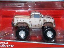 New Disney PIXAR Cars CRAIG FASTER Deluxe series Monster Truck 4x4