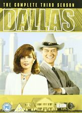 DALLAS COMPLETE SERIES 3 DVD 3rd Third Season Box Set Brand New Sealed UK Releas