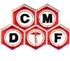 """Fantastic Voyage Movie CMDF Logo Embroidered 4""""  Patch (FVPA-01)"""