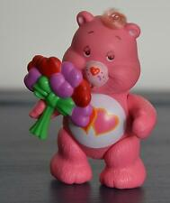 Vintage Poseable CARE BEAR Figure Kenner LOVE A LOT Complete with TOY Accessory