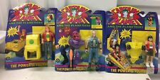 3x VINTAGE 1992 CAPTAIN PLANET & The Planeteers MATI Wheeler Argos Bleak SEALED