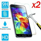 2Pcs 9H+ HD Tempered Glass Screen Protector Silm For Samsung Galaxy Cell Phone