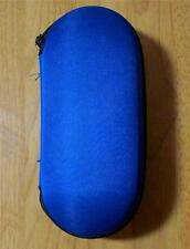 """NEW 6"""" Blue Hard Case Padded Tobacco Pipe Zippered Holder FREE SHIPPING"""