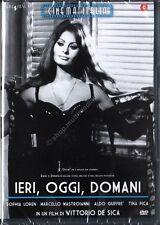 IERI, OGGI, DOMANI  (1963) Sophia Loren Mastroianni DVD NUOVO