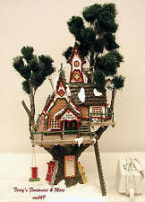 DEPARTMENT 56 NORTH POLE WOODS SERIES TOWN MEETING HALL 2000 BLDG 56880 w/BOX