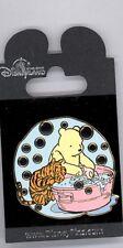 Disney Hong Kong Disneyland Classic Winnie the Pooh Tigger Bath Translucent Pin