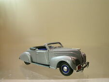 DURHAM CLASSICS CANADA FORD LINCOLN ZEPHYR 1938 SILVER MET.HANDBUILT SCALE 1:43