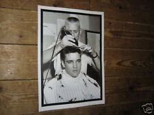 Elvis Presley Army Salone Barbiere Haircut POSTER