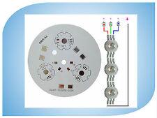 wdm 4x MCPCB Heatsink Aluminum Base plate for 3S3P 9Leds 90mm(Φ)