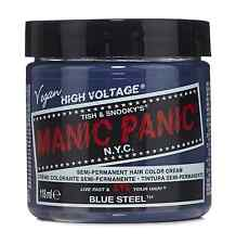 Manic Panic Semi-Permament Haircolor, Blue Steel 4 oz (Pack of 2)