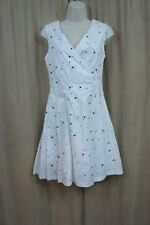 Marc by Marc Jacobs Dress Sz 2 White Multi Sleeveless Cocktail Dinner Party