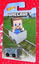 Hot Wheels MINECRAFT MINECART (#1) FBM74-D910