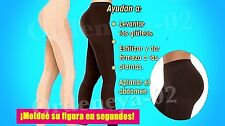 2 Elegance Leggings 360 Body Shaper Slimmer Panty Medias Hot Pants Legging Redu