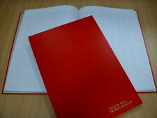 A4 HARD BACK ACCOUNTS / ACCOUNT ANALYSIS BOOK 10 CASH COLUMNS 96 PAGES BRAND NEW