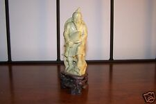 Jade Fisherman Statue Carving