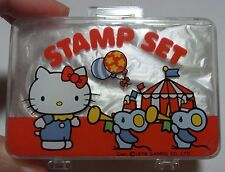 RARE Hello Kitty Vintage Mini Stamp Set Sanrio 1976 retoro kawaii Japan F/S