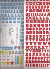 CREATIVE MEMORIES Let's Celebrate ABC'S Jumbo Stickers x 2 Mini ABC Scrapbook