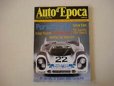 AUTO D'EPOCA 4/2002 MV AGUSTA 350 SPORT/LOTUS ELAN/PORSCHE 917/COPPA CONSUMA