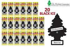 20 X Black Ice Magic poco árbol car/home/van / Oficina de aire ambientador comprar a granel