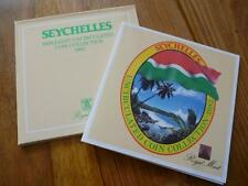 1982 ROYAL MINT SEYCHELLES  UNCIRCULATED COIN COLLECTION. 1982 SEYCHELLES SET.