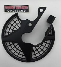 Scorpa/Sherco Front Disc Guard / Cover In Black No Decals Trials