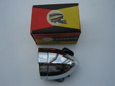 VINTAGE VITADYNE VITARAM CHROOM FRONT / HEAD LIGHT FOR BICYCLE - NOS - NIB