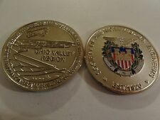 CHALLENGE COIN SOCIETY OF AMERICAN MILITARY ENGINEERS OHIO VALLEY REGION EVIRONM