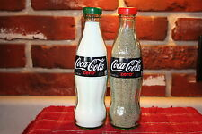 COCA-COLA ZERO 8oz SALT AND PEPPER SHAKERS (Glass Bottles)
