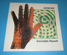 Genesis , Invisible Touch  VINYL LP (Atlantic 81641-1-E ) 1986- Phil Collins VG+